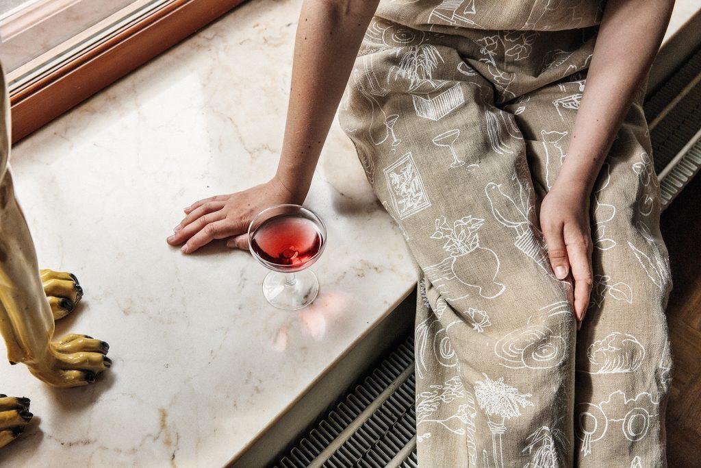 Saana ja Olli Mielenmaisemia Mindscapes Finnish Design Hemp Fabric Made in Finland